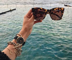 fashion, sunglasses, and luxury image