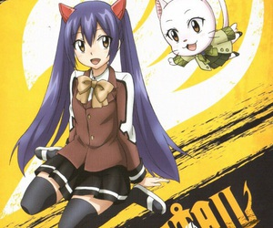 anime, wendy, and fairytail image