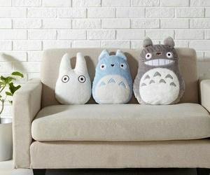 totoro, kawaii, and cute image