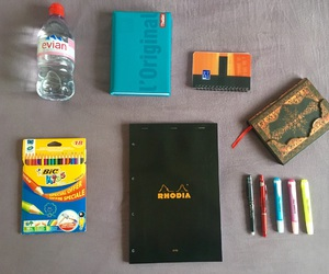 evian, school, and study image