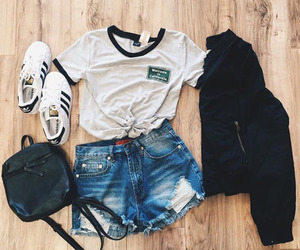 clothes, outfit, and love image
