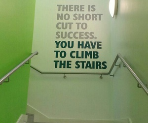 qoute, stairs, and quote image