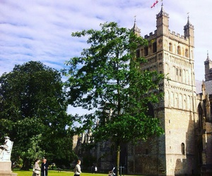 england, cathedral, and nature image