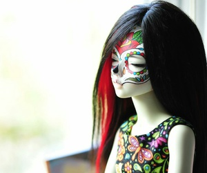doll and red image