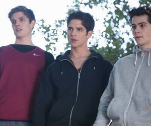 teen wolf, tyler posey, and daniel sharman image