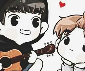 exo, facebook cover, and chanyeol image