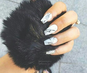 fashion, nails, and art image