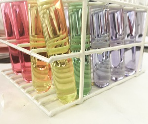 chemistry, colors, and science image