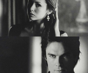 delena, tvd, and the vampire diaries image