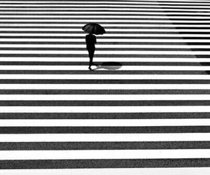 black and white, city, and minimalism image
