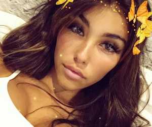 madison beer, icon, and snapchat image