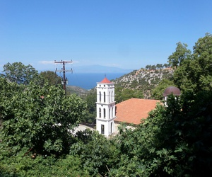 church and thassos image