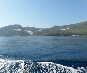 Greece, wave, and view image