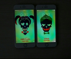 harley quinn, suicide squad, and iphone image