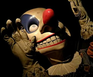 clown, creepy, and harry potter image
