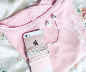 pink, tumblr, and iphone se image