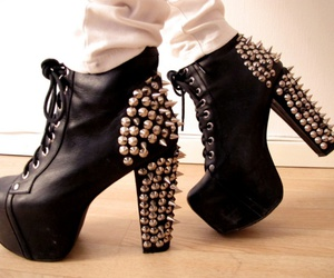 shoes, fashion, and jeffrey campbell image
