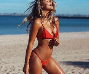 australia, beach, and Hot image