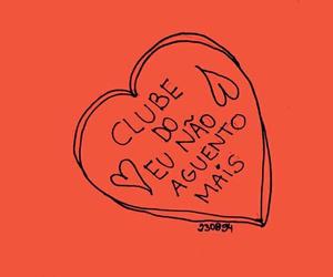 coraçao, clube, and não aguento mais image