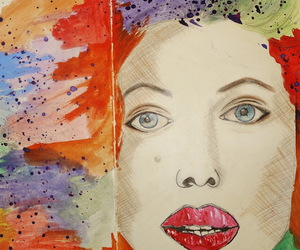 art, color, and moleskine image