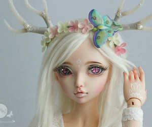 bjd, msd, and ball joined doll image