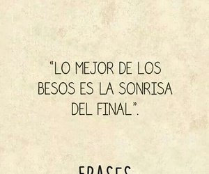 Besos, final, and frase image
