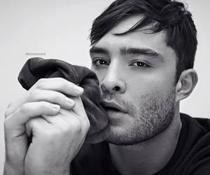 black and white, ed westwick, and sexy image