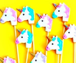 unicorn, pastel, and bright image
