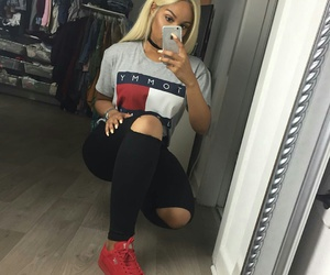 outfit, style, and puma image