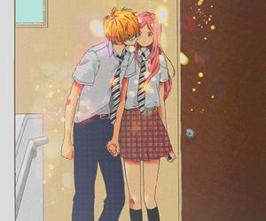 manga, kiss, and hibi chouchou image