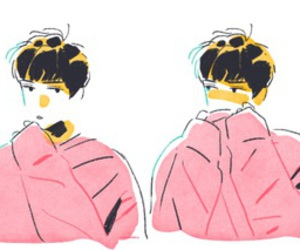 fanart, lucky one, and sehun image
