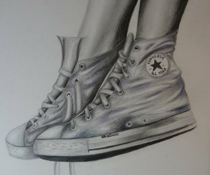 art, converse, and realistic image