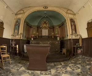 altar, disused, and chapel image