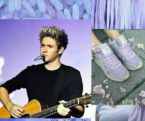 purple, fondo de pantalla, and niall image