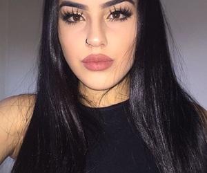 girl, pretty, and sabrine maghnie image