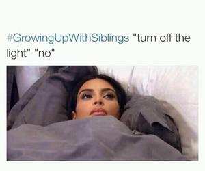 funny, growingupwithsiblings, and siblings image