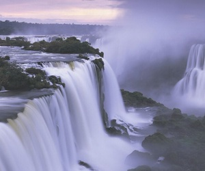 argentina, waterfall, and beautiful image