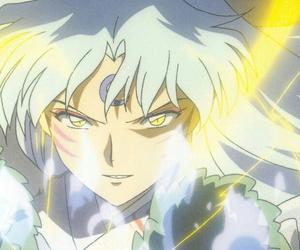 sesshomaru, anime, and inuyasha image