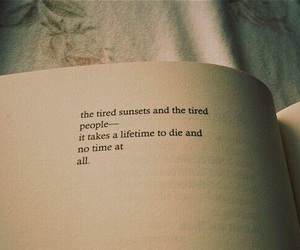 book, quotes, and tired image