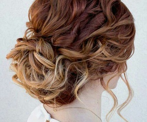 chic, hair, and love image