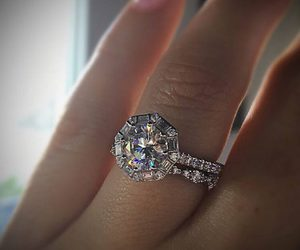 jewelry, weddings, and wedding rings image