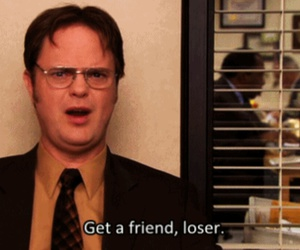 loser, the office, and dwight schrute image