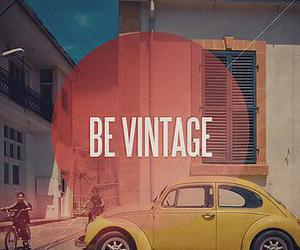 vintage, car, and be vintage image