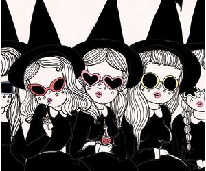 valfre, art, and Witches image