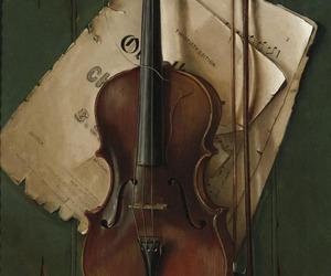 art, artwork, and sheet music image