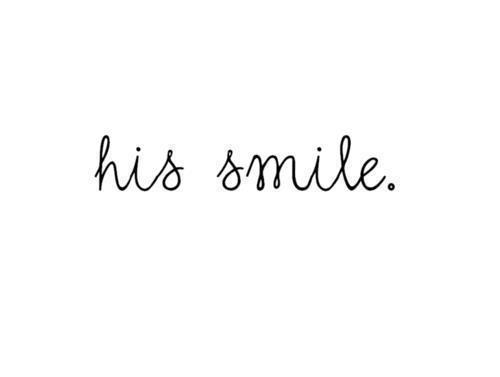 Love his Smile uploaded by Queen on We Heart It