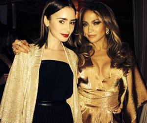 Jennifer Lopez and lily collins image