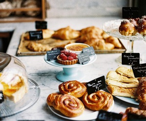food, sweet, and bakery image