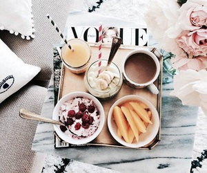 food, vogue, and breakfast image