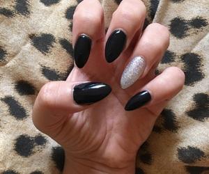 black nails, claws, and nails image
